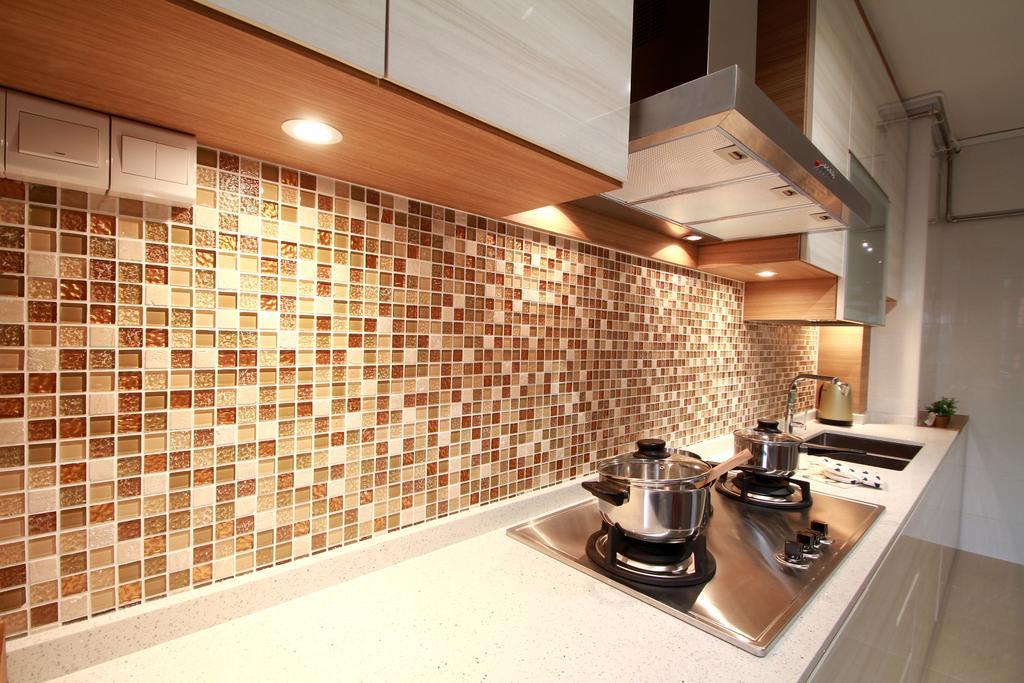 Modern, HDB, Living Room, Tampines Street 83, Interior Designer, VVID Elements