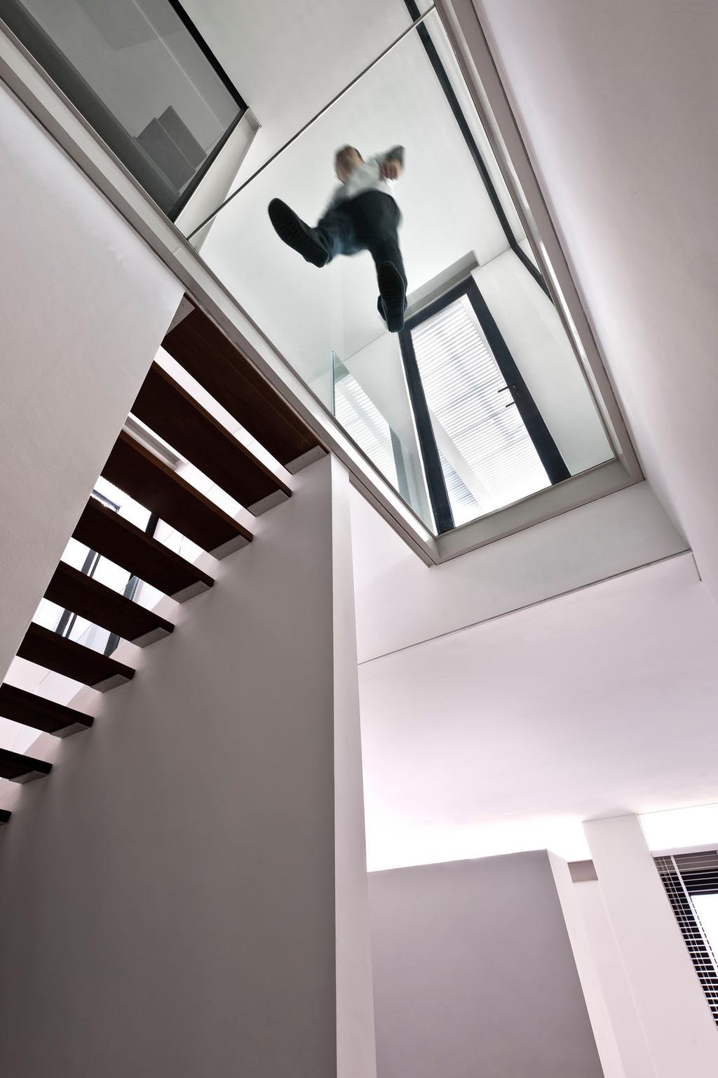Modern, Landed, Khairuddin House, Architect, Visual Text Architects, Architecture, Building, Skylight, Window