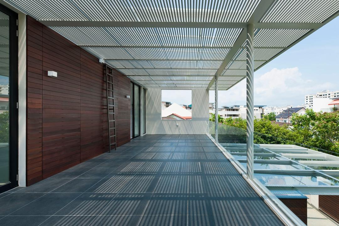 Khairuddin House, Visual Text Architects, Modern, Landed, Path, Walkway
