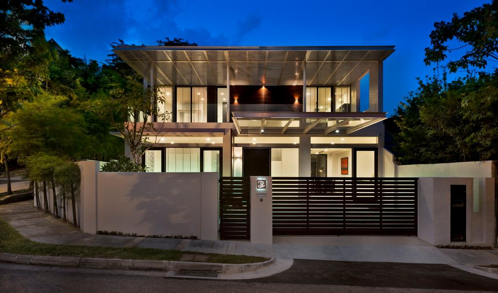 Modern, Landed, Khairuddin House, Architect, Visual Text Architects, Building, House, Housing