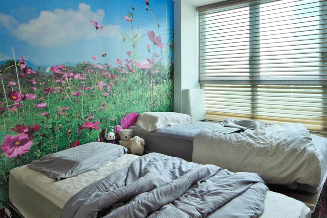 The Gale, Triz Arte, Modern, Bedroom, Condo, Cosmos