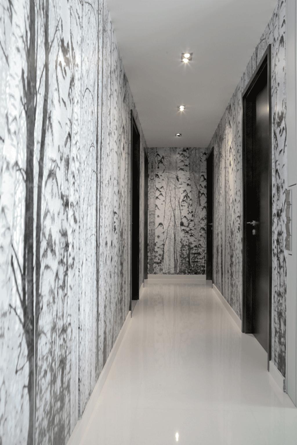 Modern, Condo, The Gale, Interior Designer, Triz Arte, Corridor