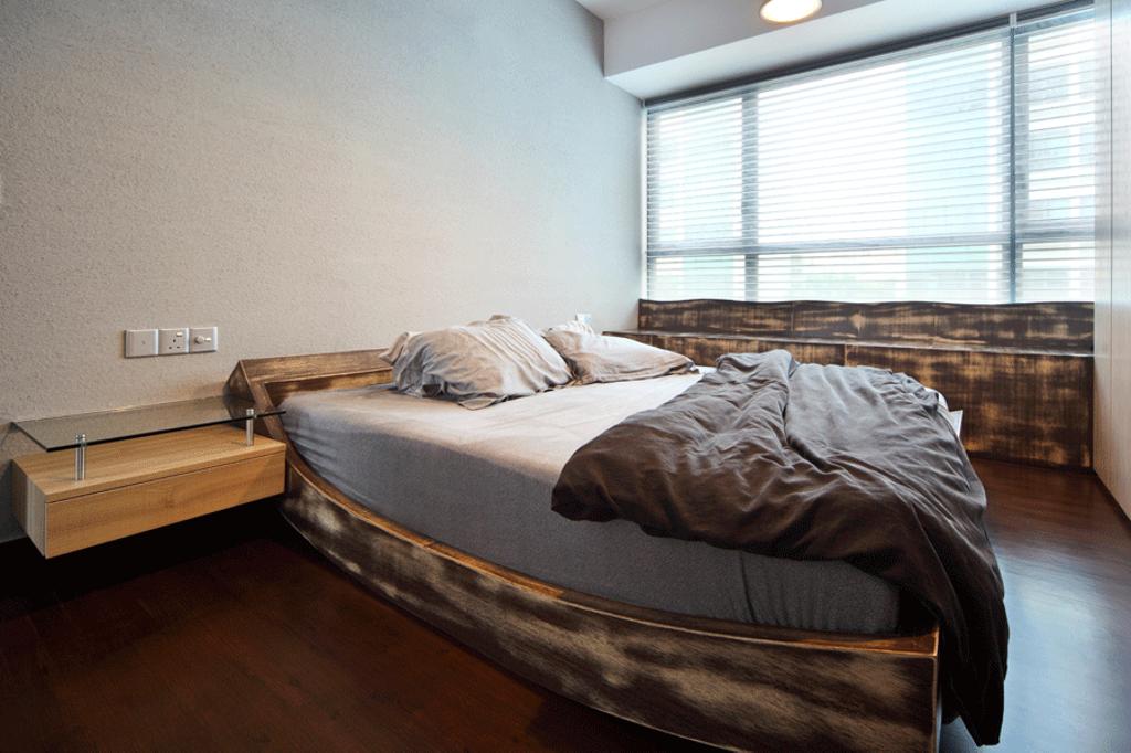 Modern, Condo, Bedroom, The Gale, Interior Designer, Triz Arte, Bed, Furniture