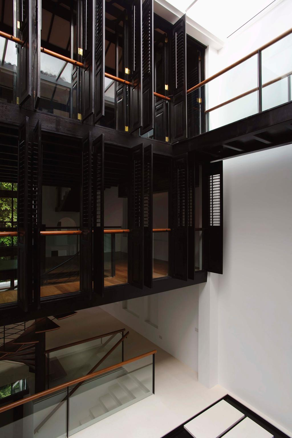 Traditional, Landed, Emerald Hill Shophouse I, Architect, Visual Text Architects