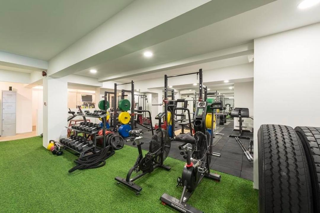 Fitness Bravo, Earth Interior Design Pte Ltd, Industrial, Scandinavian, Commercial, Exercise, Fitness, Gym, Sport, Sports, Working Out, Motorcycle, Transportation, Vehicle, Tire