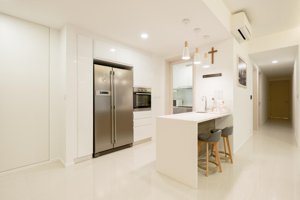 Modern, Condo, Kitchen, The Amore, Interior Designer, Lemonfridge Studio