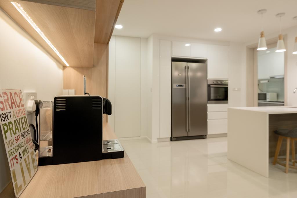 Modern, Condo, Dining Room, The Amore, Interior Designer, Lemonfridge Studio, Flooring