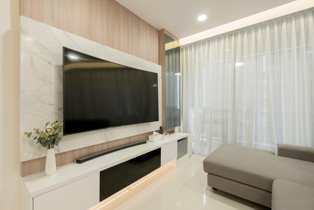 Modern, Condo, Living Room, The Amore, Interior Designer, Lemonfridge Studio, Indoors, Interior Design