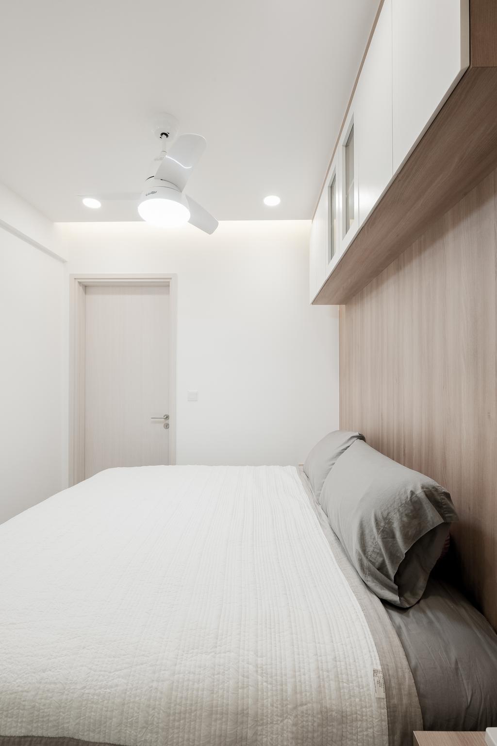 Modern, Condo, Bedroom, The Amore, Interior Designer, Lemonfridge Studio, Molding