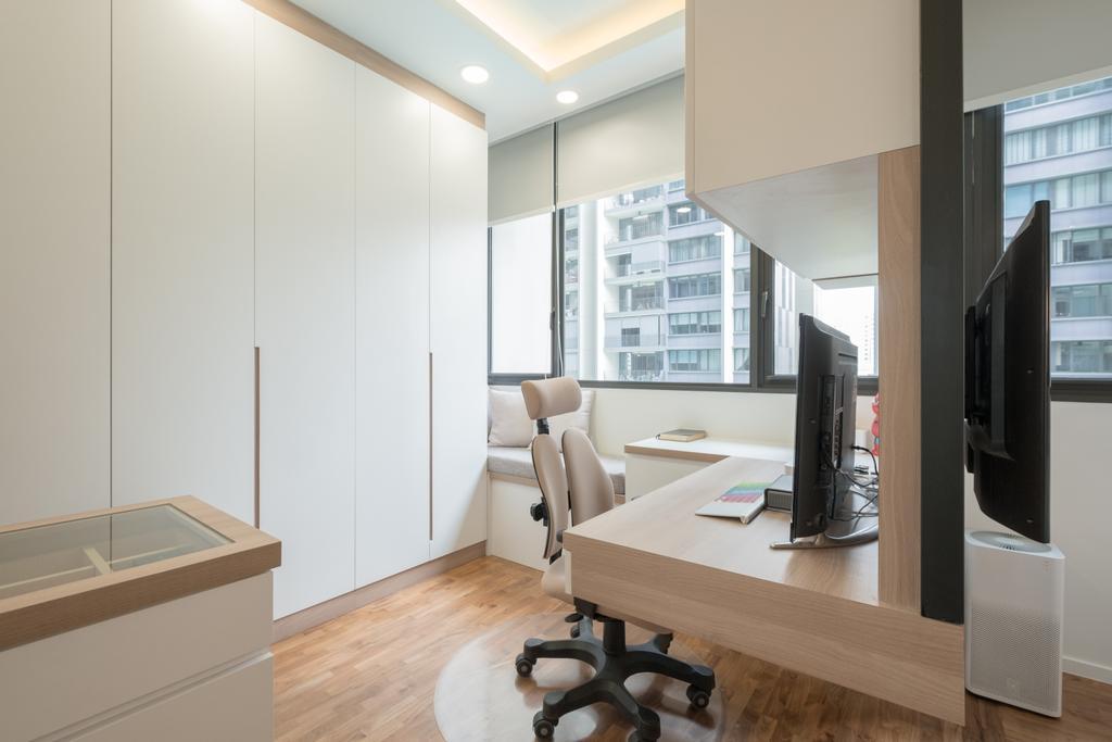 Modern, Condo, Study, The Amore, Interior Designer, Lemonfridge Studio, Indoors, Interior Design, Chair, Furniture
