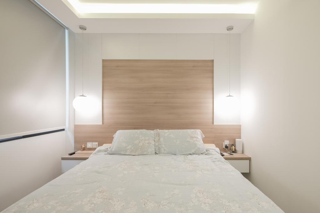 Modern, Condo, Bedroom, The Amore, Interior Designer, Lemonfridge Studio, HDB, Building, Housing, Indoors, Loft, Interior Design, Room