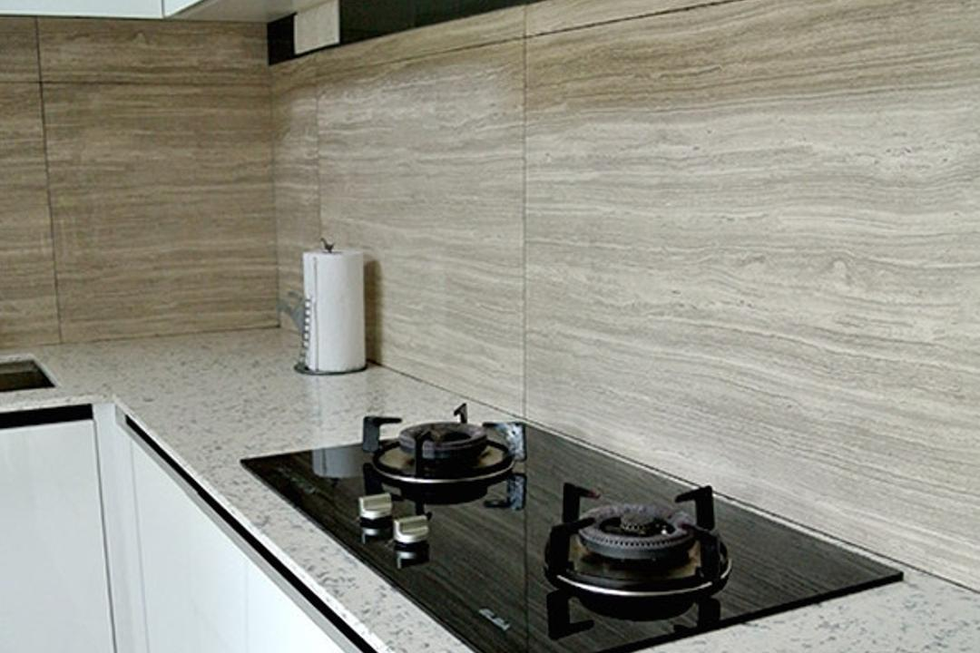Tanjung Bungah, Minterior Project Sdn Bhd, Contemporary, Kitchen, Landed, Appliance, Burner, Electrical Device, Oven