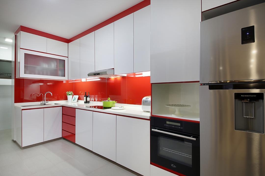 Red In Kitchen Interior Design Singapore Interior Design Ideas