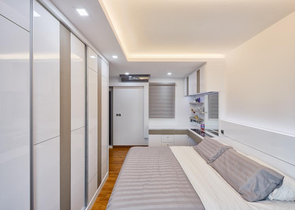 Modern, HDB, Bedroom, Skyville @ Dawson (Block 88), Interior Designer, Absolook Interior Design, Indoors, Interior Design, Kitchen, Room
