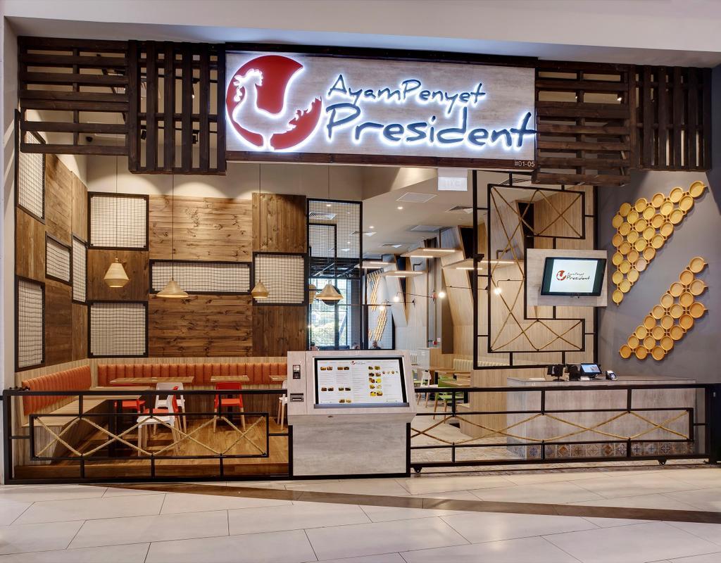 Ayam Penyet President, Commercial, Interior Designer, Liid Studio, Contemporary, Logo, Trademark
