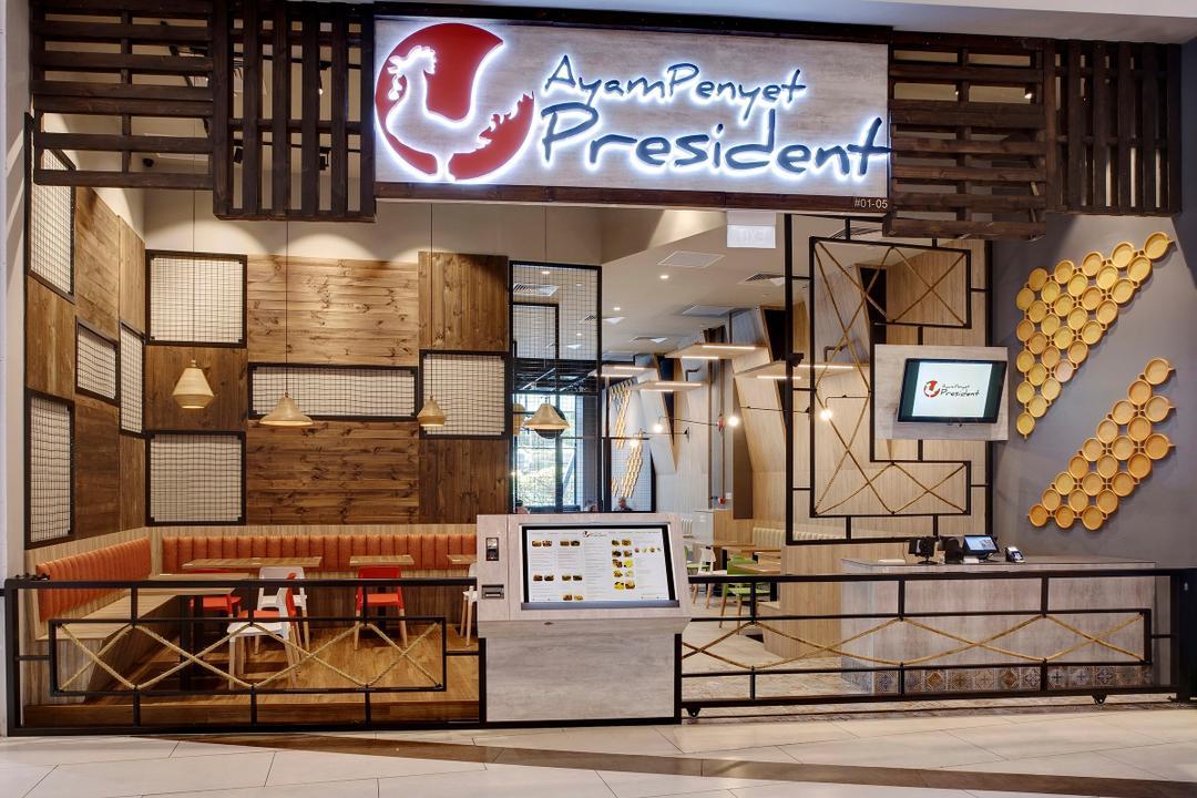Ayam Penyet President, Liid Studio, Contemporary, Commercial, Logo, Trademark