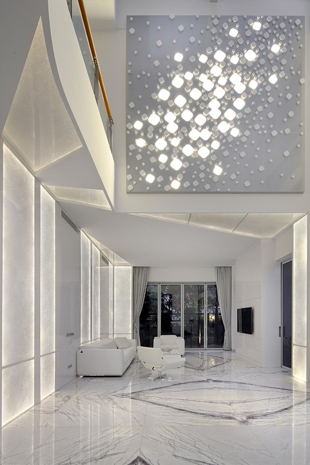 Modern, Landed, Living Room, Tai Yuan Heights, Interior Designer, Triz Arte