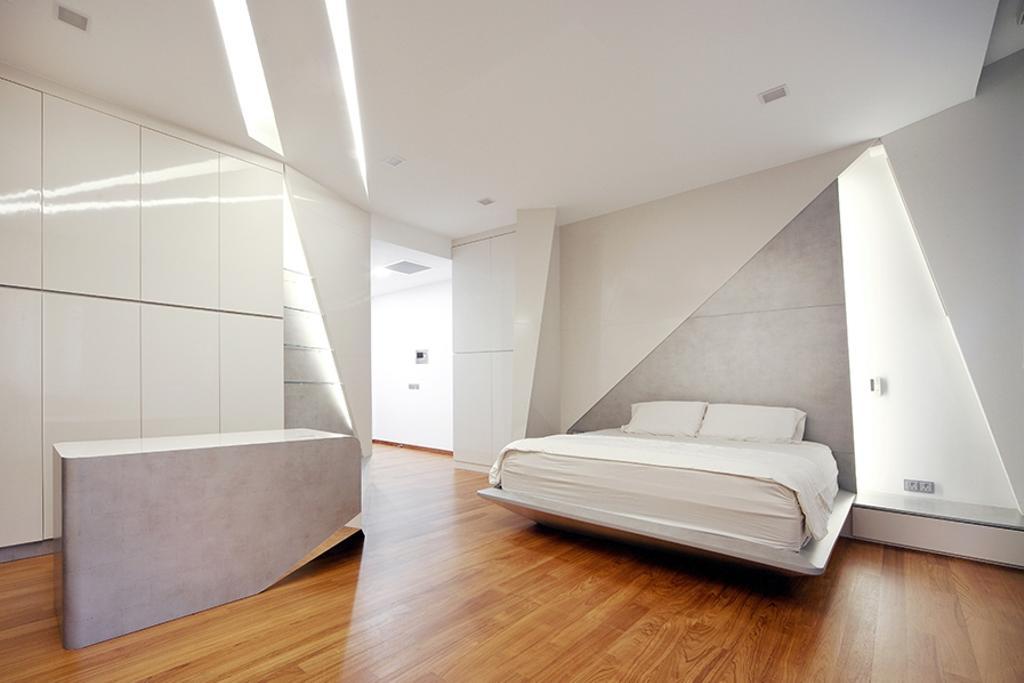 Modern, Landed, Bedroom, Tai Yuan Heights, Interior Designer, Triz Arte, HDB, Building, Housing, Indoors, Loft