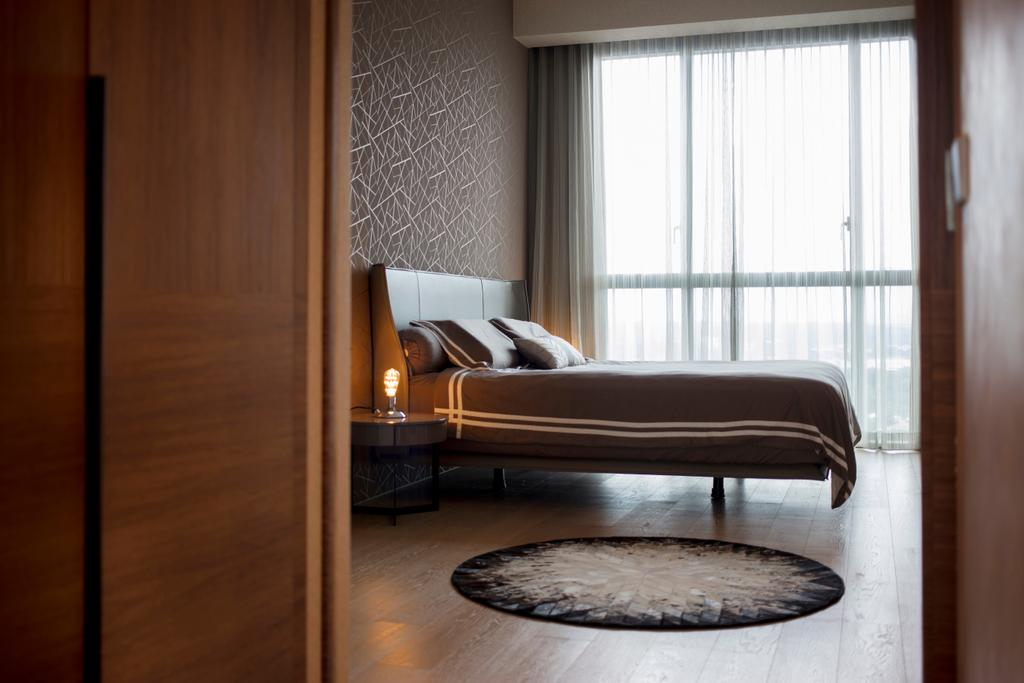 Transitional, Condo, Bedroom, Echelon, Interior Designer, KDOT, Bed, Furniture