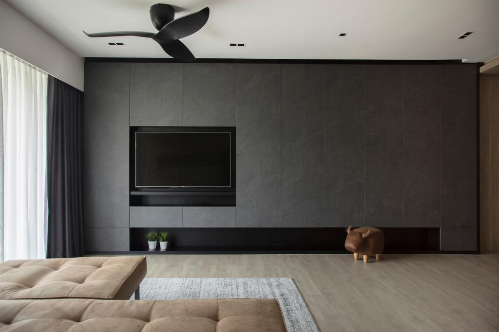 Modern, HDB, Punggol Drive, Interior Designer, KDOT, Contemporary, Couch, Furniture, Indoors, Interior Design