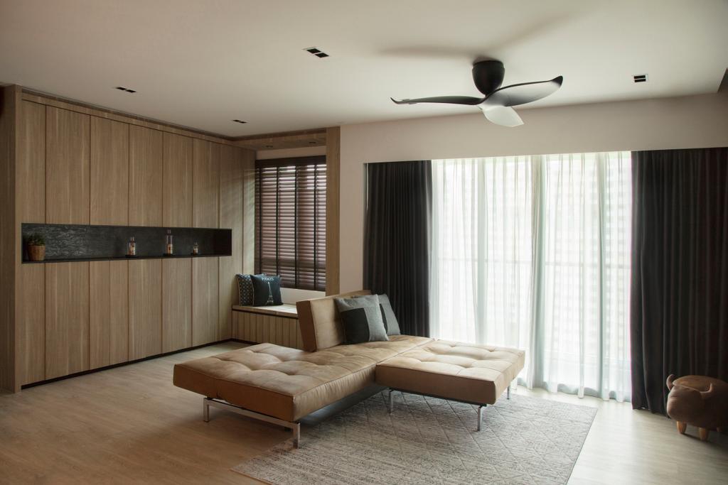Modern, HDB, Punggol Drive, Interior Designer, KDOT, Contemporary, Indoors, Interior Design, Logo, Trademark, Carpet, Home Decor