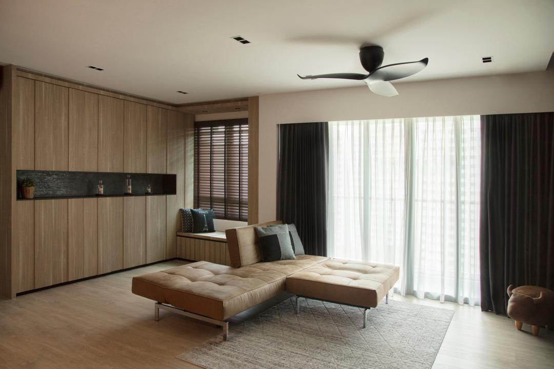 Punggol Drive, KDOT, Modern, Contemporary, HDB, Indoors, Interior Design, Logo, Trademark, Carpet, Home Decor