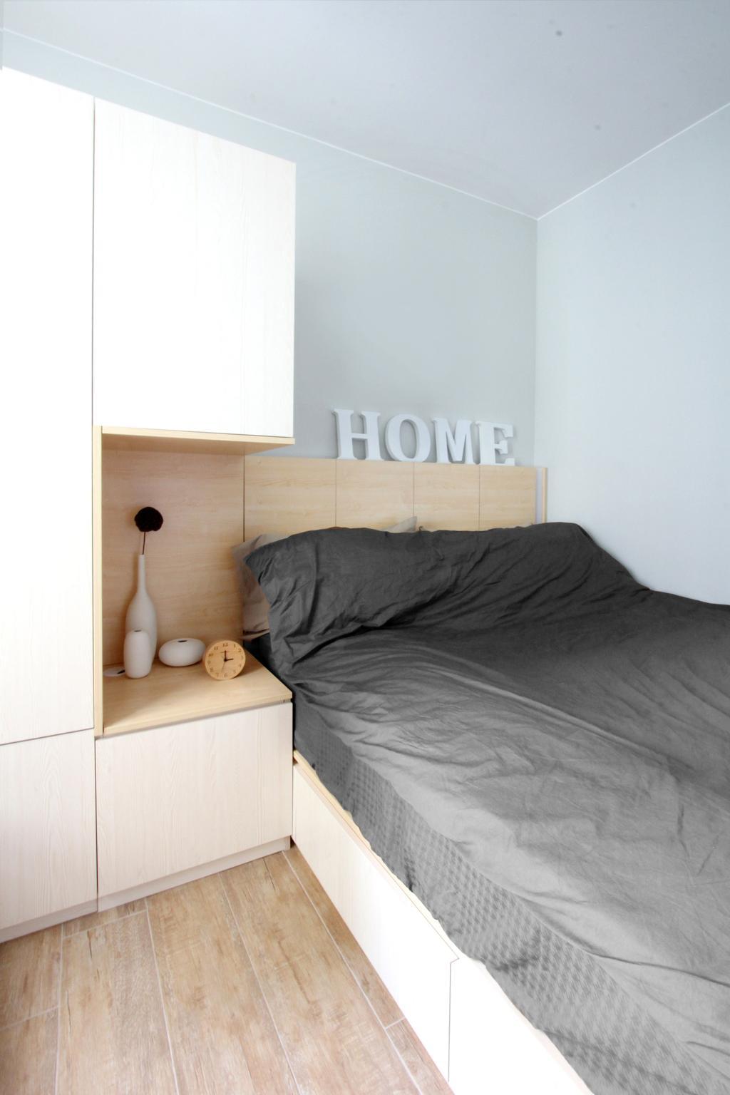 北歐, 公屋/居屋, 睡房, 寧峰苑, 室內設計師, MNOP Design, 簡約