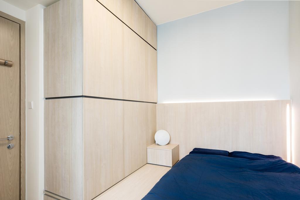 摩登, 私家樓, 睡房, The Parkside, 室內設計師, MNOP Design