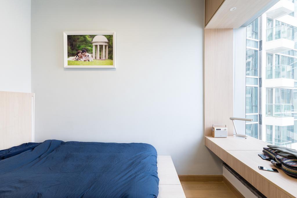 摩登, 私家樓, 睡房, The Parkside, 室內設計師, MNOP Design, Indoors, Interior Design, Room