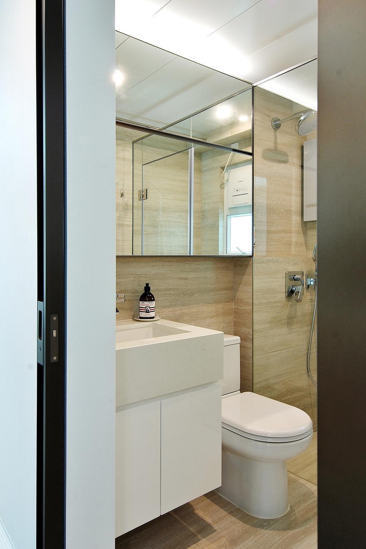 摩登, 私家樓, 浴室, 康蕙花園, 室內設計師, EMCS, 簡約