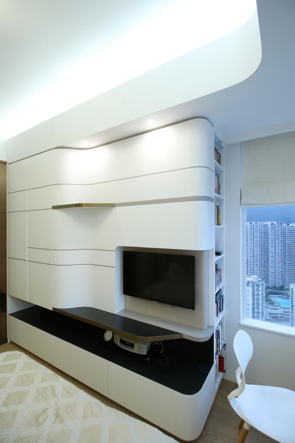傳統, 私家樓, 睡房, 逸樺園, 室內設計師, EMCS, Bookcase, Furniture