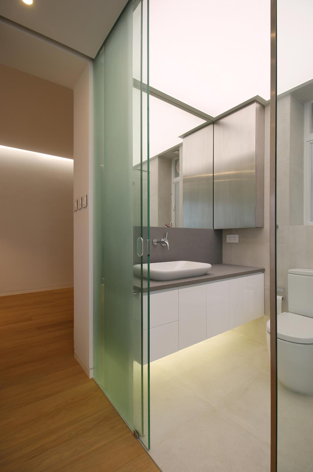 摩登, 私家樓, 浴室, 逸樺園, 室內設計師, EMCS, 簡約, Indoors, Interior Design, Room