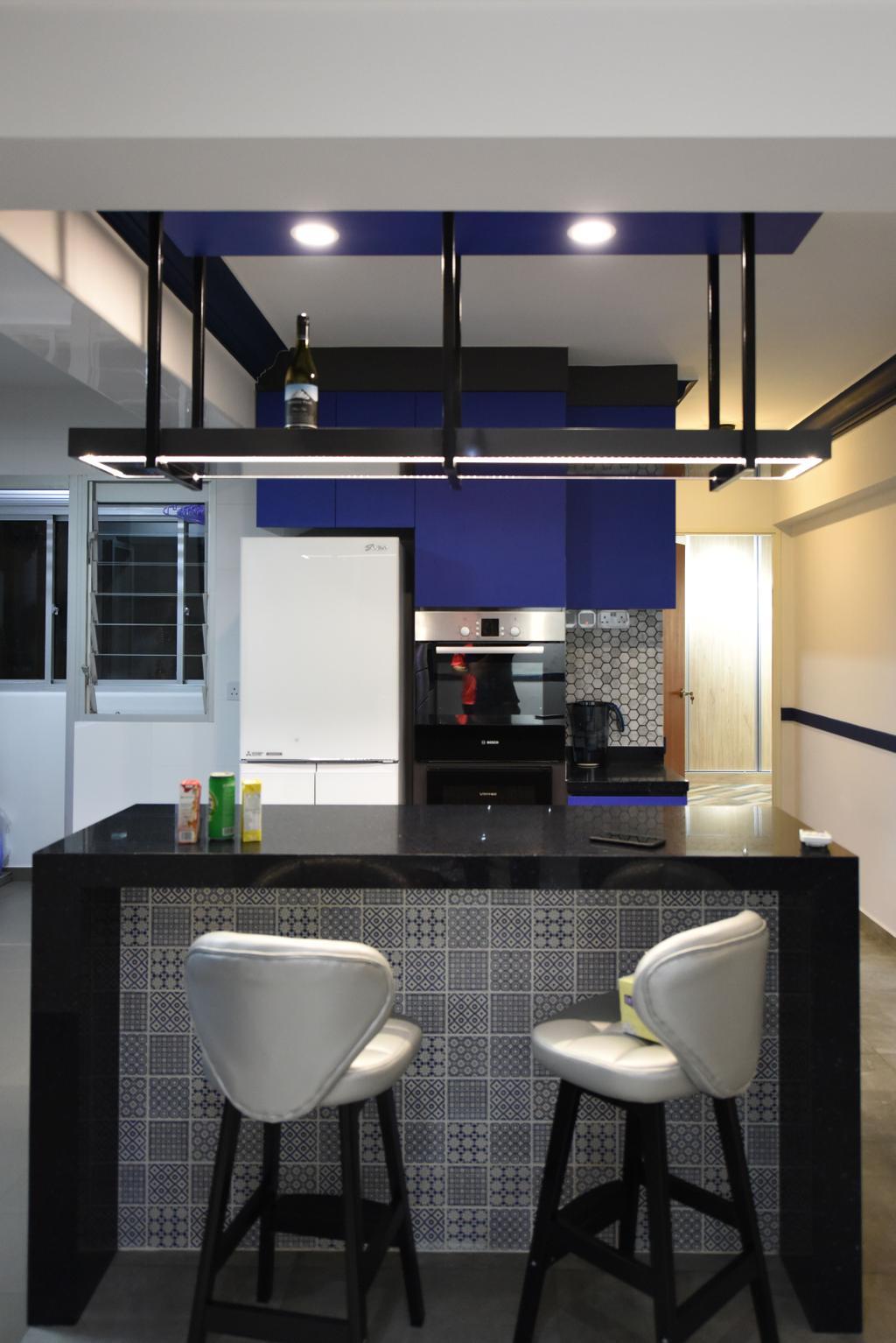 Eclectic, HDB, Dining Room, Boon Lay Avenue (Block 218B), Interior Designer, Starry Homestead