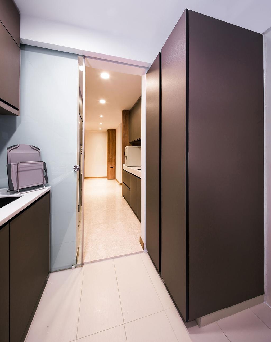 Modern, Condo, Kitchen, Nin Residence, Interior Designer, Icon Interior Design