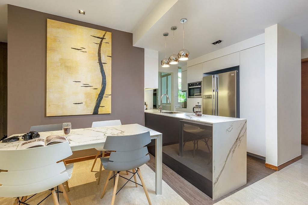 Minimalistic, Condo, Dining Room, The Sunglade, Interior Designer, Icon Interior Design, Contemporary, Sink, Indoors, Room
