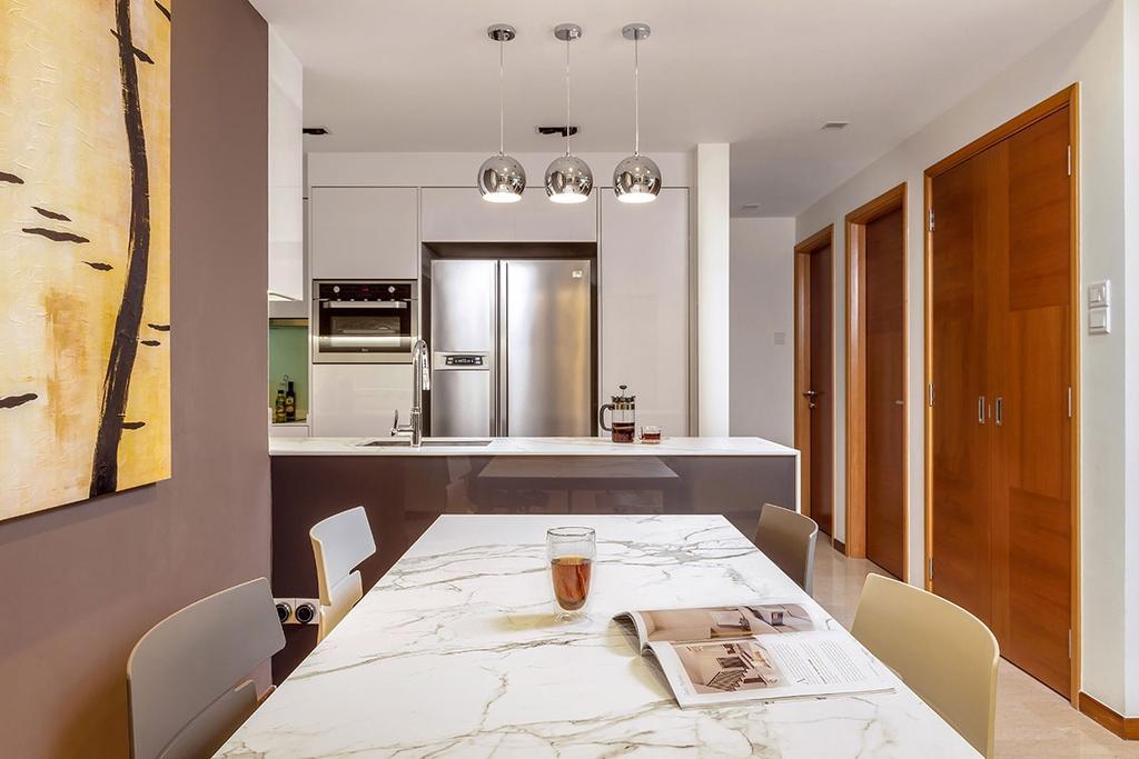 Minimalistic, Condo, Dining Room, The Sunglade, Interior Designer, Icon Interior Design, Contemporary, Indoors, Interior Design