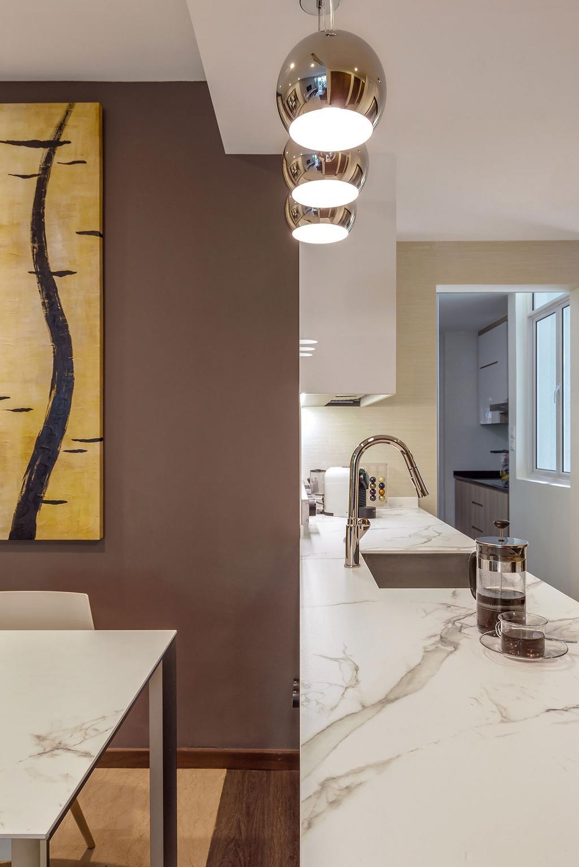 Minimalistic, Condo, Kitchen, The Sunglade, Interior Designer, Icon Interior Design, Contemporary
