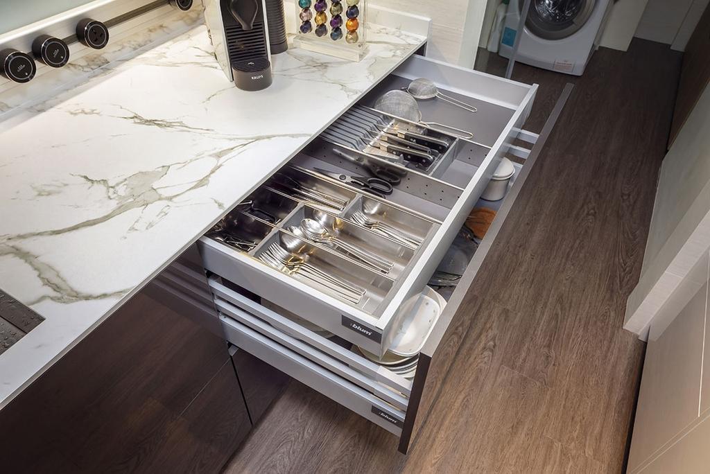 Minimalistic, Condo, Kitchen, The Sunglade, Interior Designer, Icon Interior Design, Contemporary, Appliance, Electrical Device, Oven