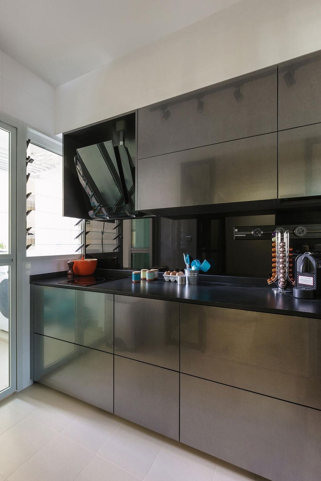 Contemporary, HDB, Kitchen, Matilda Portico (Block 217A), Interior Designer, Icon Interior Design