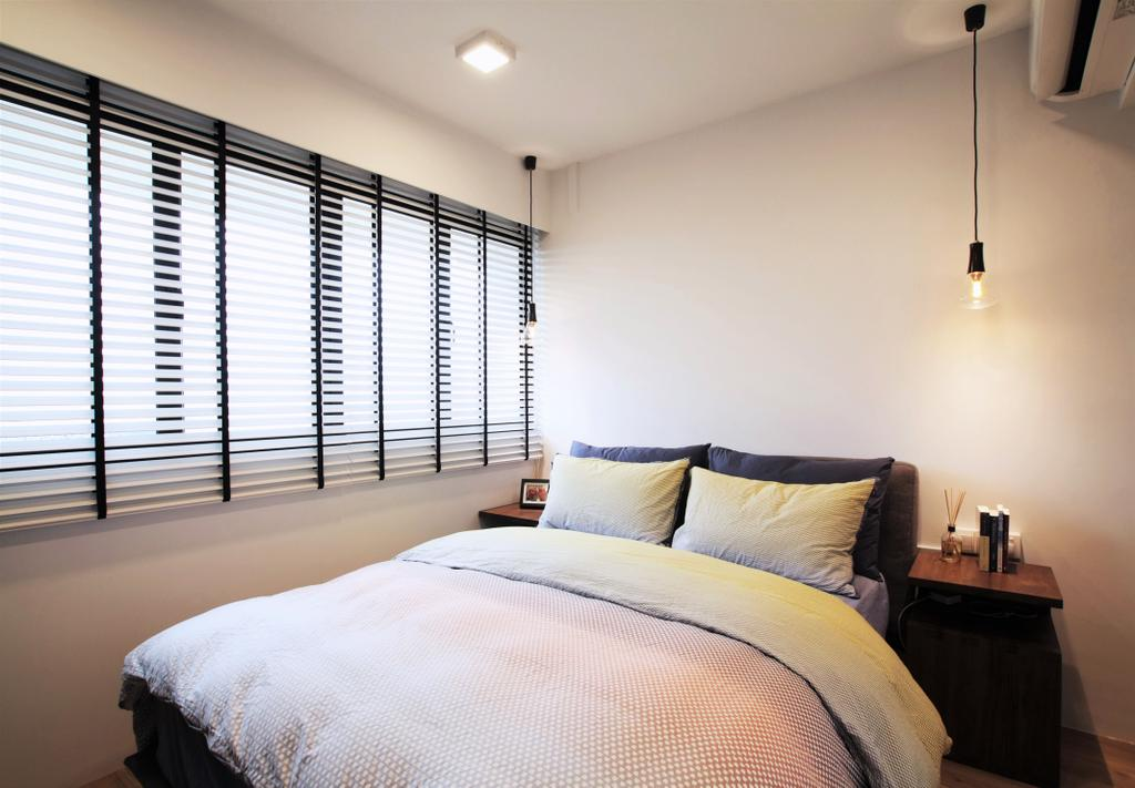 Modern, HDB, Bedroom, Pasir Ris, Interior Designer, Intrigue-d Design Consultancy, Contemporary, Indoors, Interior Design, Room, Sink