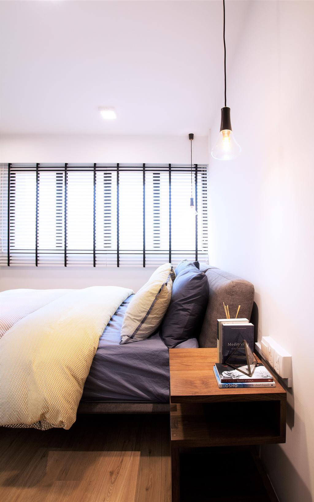 Modern, HDB, Bedroom, Pasir Ris, Interior Designer, Intrigue-d Design Consultancy, Contemporary