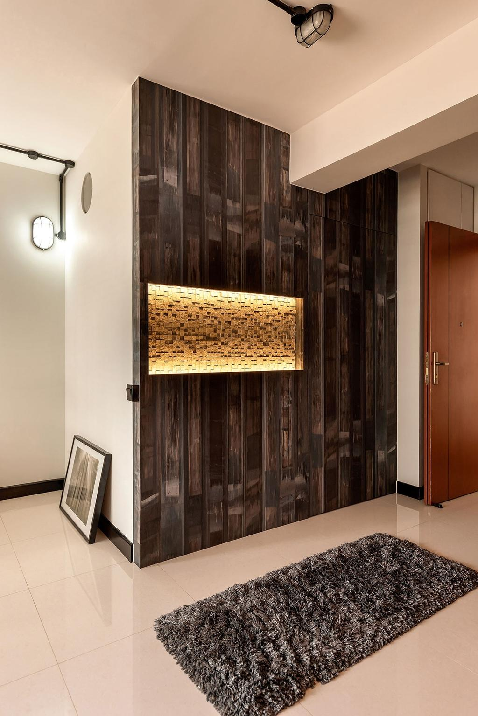 Modern, HDB, Living Room, Sumang Walk (Block 256B), Interior Designer, Icon Interior Design, Fireplace, Hearth
