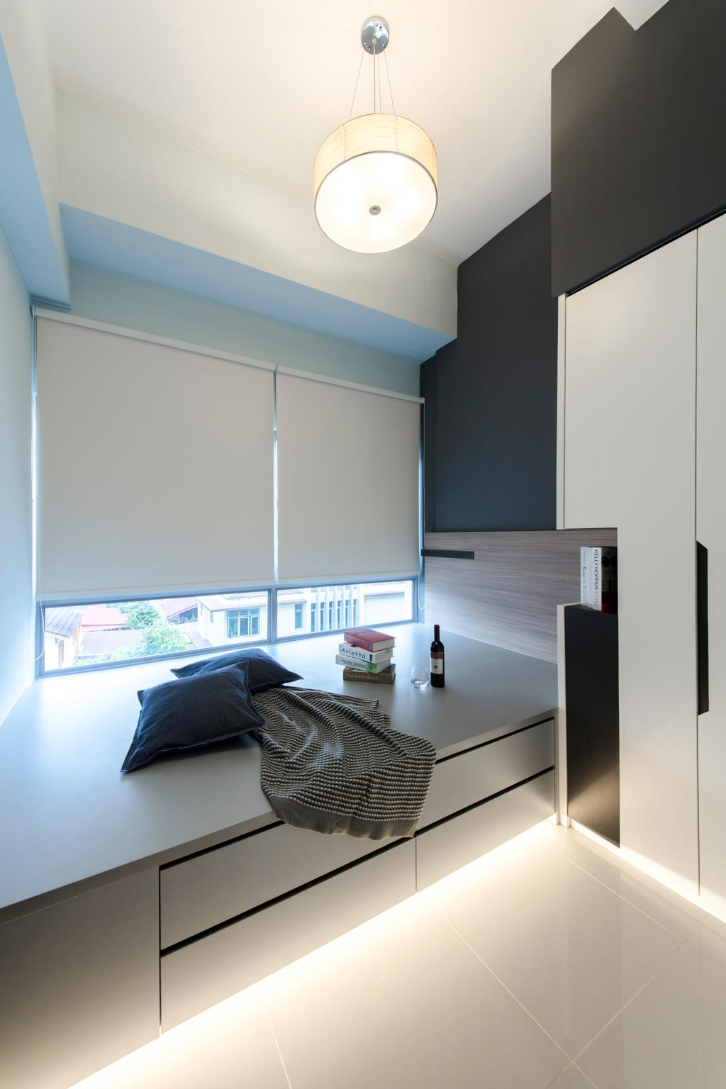 Modern, Condo, Bedroom, Siglap V, Interior Designer, Anhans Interior Design, Indoors, Interior Design