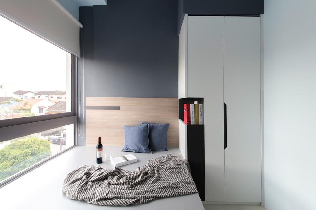 Modern, Condo, Bedroom, Siglap V, Interior Designer, Anhans Interior Design, Indoors, Interior Design, Room