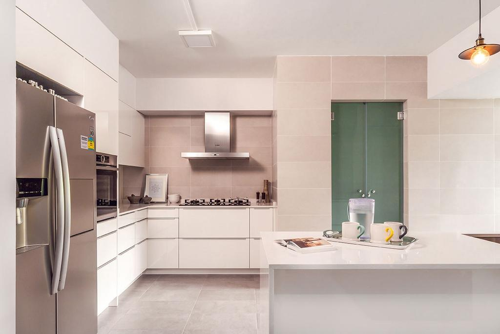 Minimalistic, HDB, Kitchen, Choa Chu Kang North 5 (Block 764), Interior Designer, Icon Interior Design, Indoors, Interior Design, Room