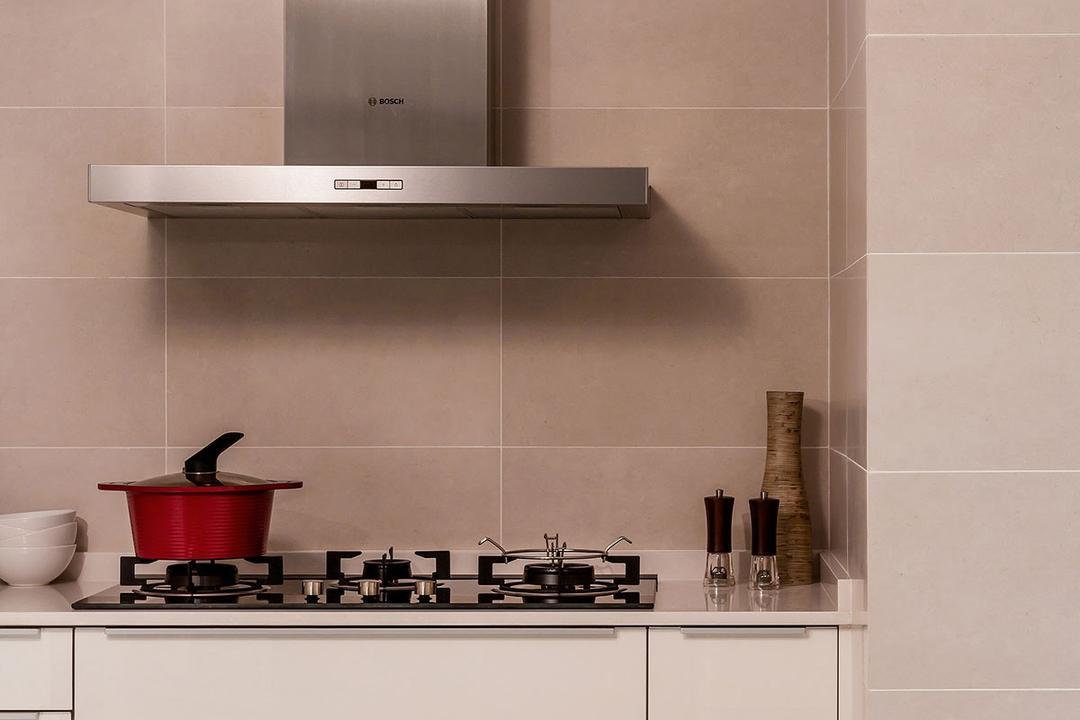 Choa Chu Kang North 5 (Block 764), Icon Interior Design, Minimalistic, Kitchen, HDB, Indoors, Interior Design, Room, Chess, Game