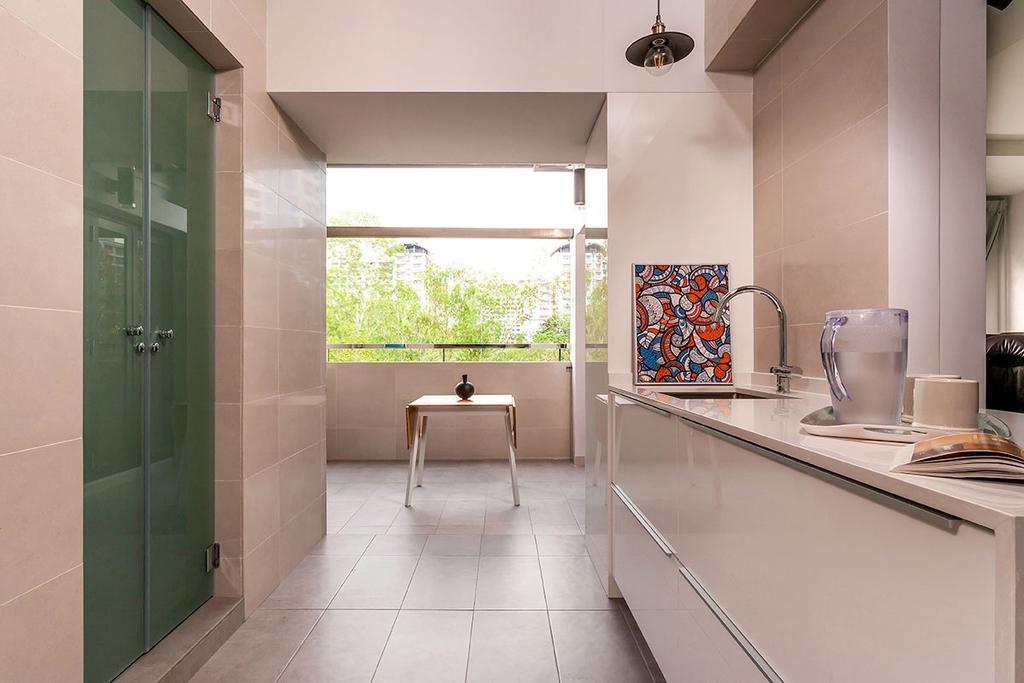 Minimalistic, HDB, Kitchen, Choa Chu Kang North 5 (Block 764), Interior Designer, Icon Interior Design, Cup, Furniture, Table