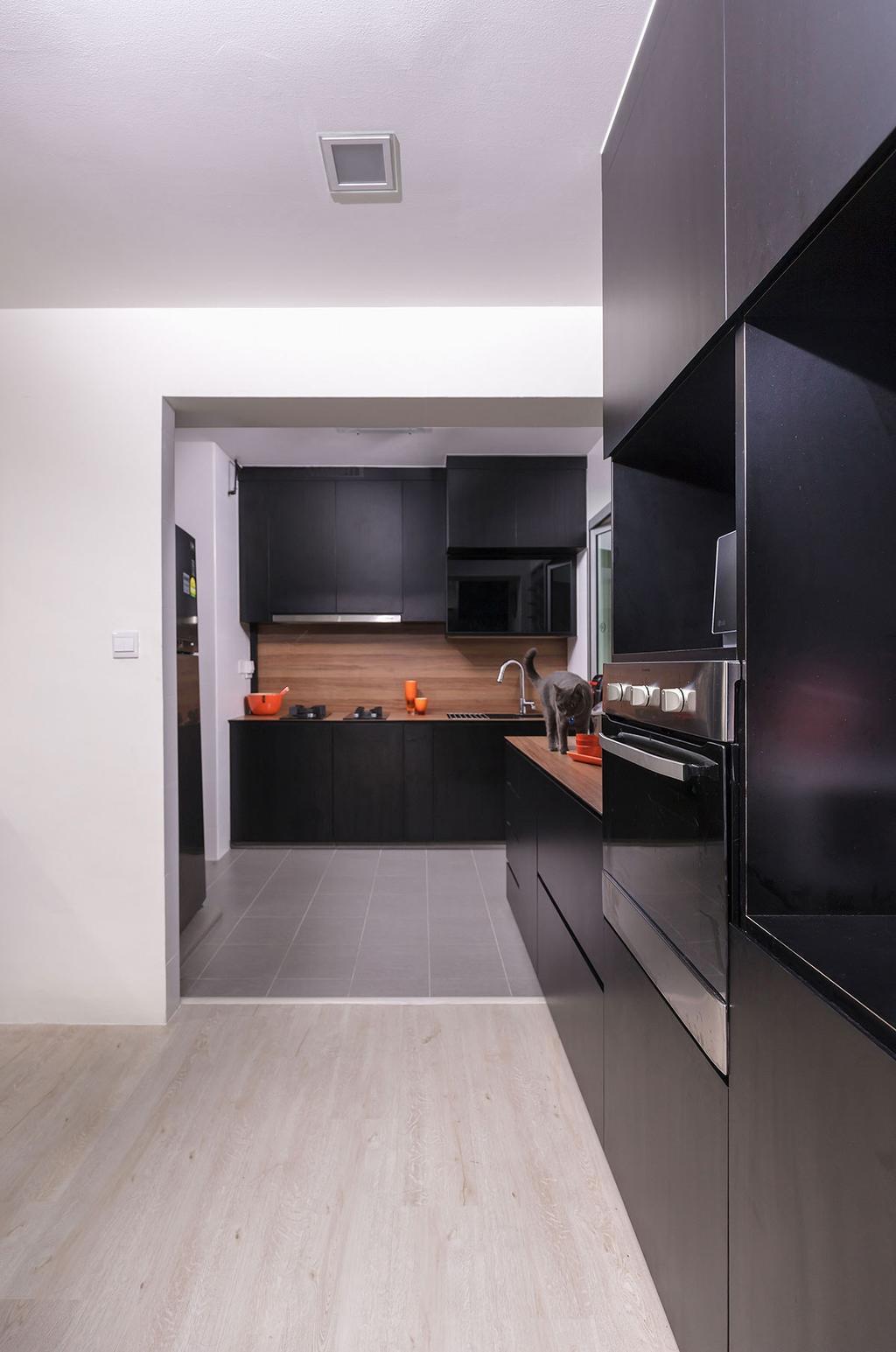 Modern, HDB, Kitchen, Choa Chu Kang (Block 815B), Interior Designer, Icon Interior Design