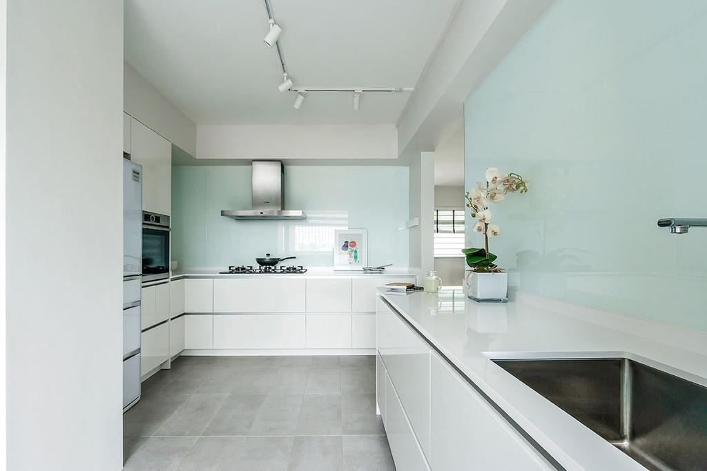 Minimalistic, HDB, Kitchen, Choa Chu Kang Street 54 (Block 768), Interior Designer, Icon Interior Design