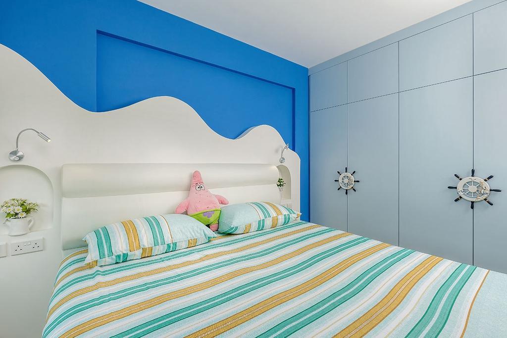 Modern, HDB, Bedroom, Keat Hong Link (Block 817B), Interior Designer, Icon Interior Design, Indoors, Interior Design, Room